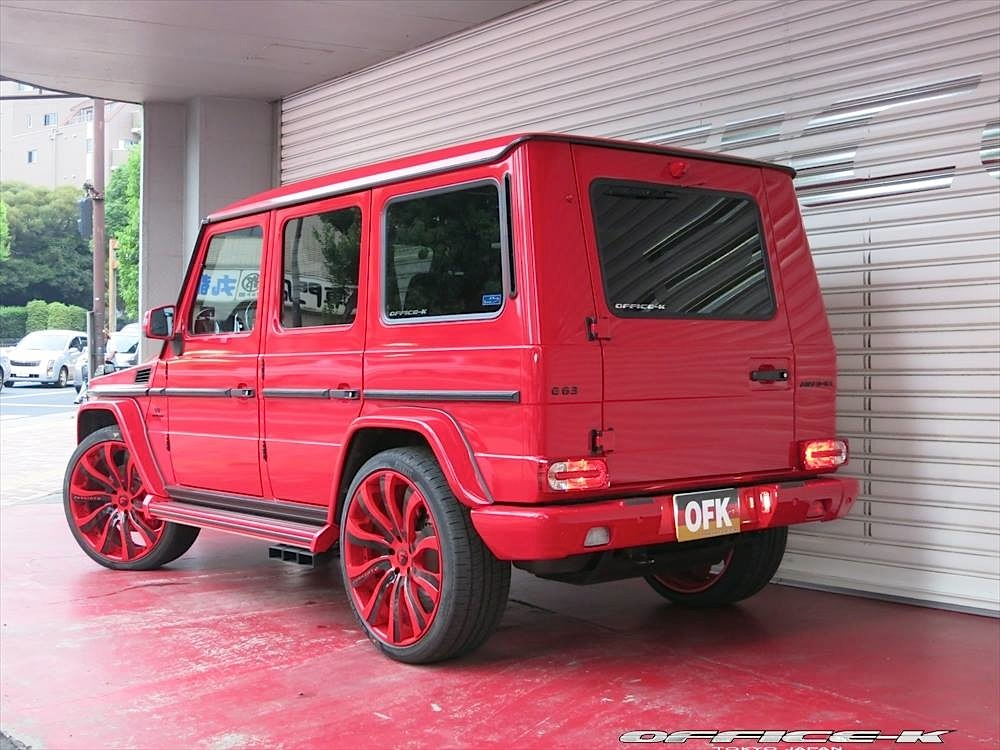 mercedes benz g class red this red g class by office k is all kinds - Mercedes G Amg Custom