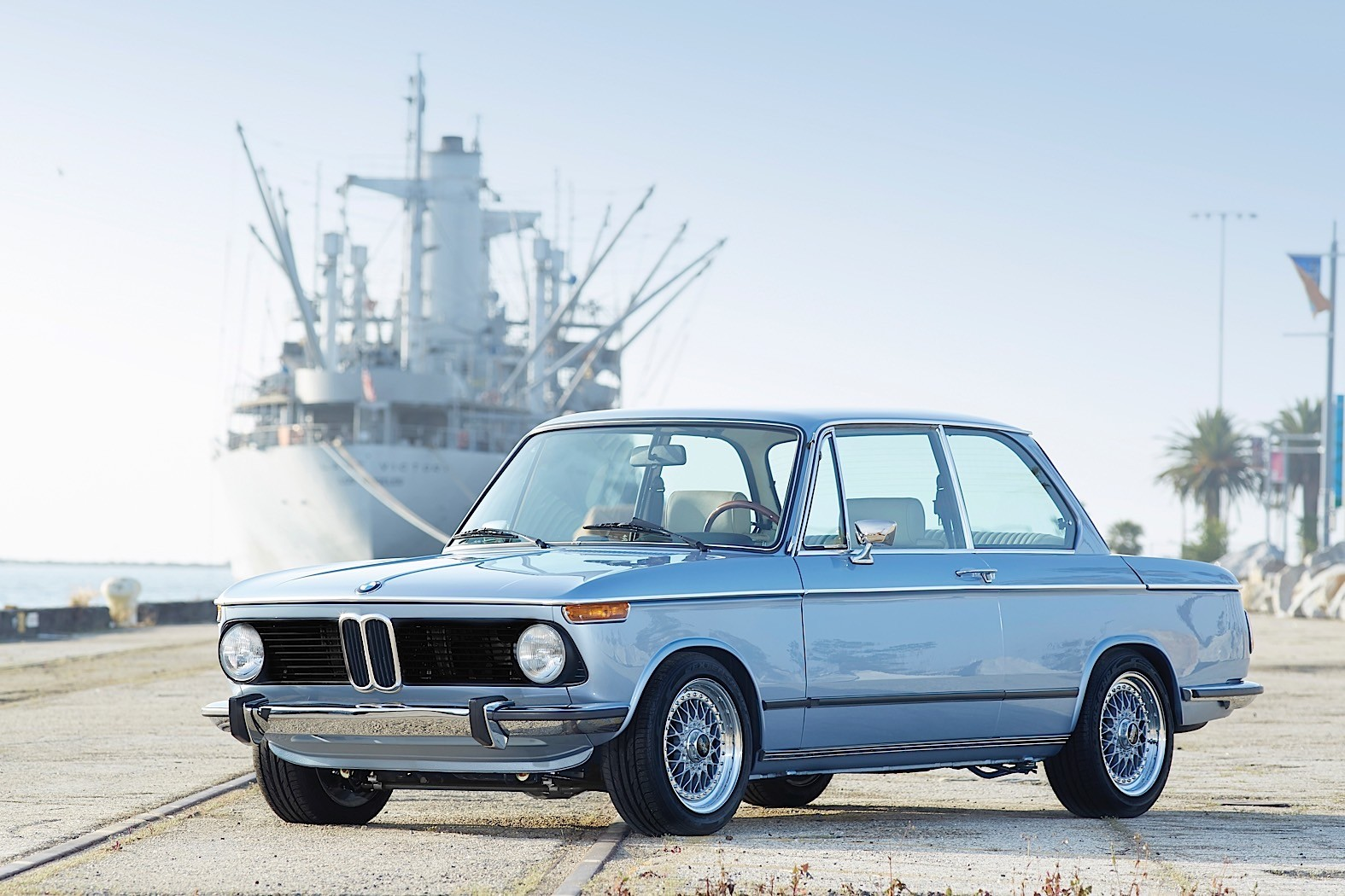 This Revived 1974 Bmw 2002 By Clarion Builds Is Going Under The Hot Rod BMW  2002 Bmw 1974 2002 Auto Wire Diagram