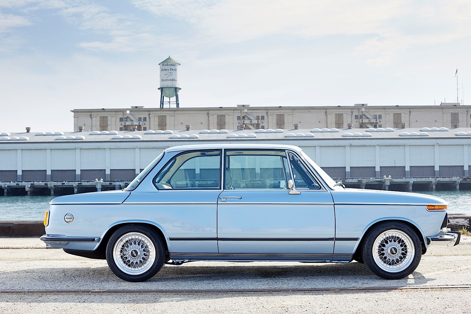 This Revived 1974 Bmw 2002 By Clarion Builds Is Going