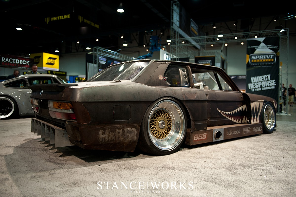 This Rusty Old Bmw E28 5 Series Is Actually A Race Car