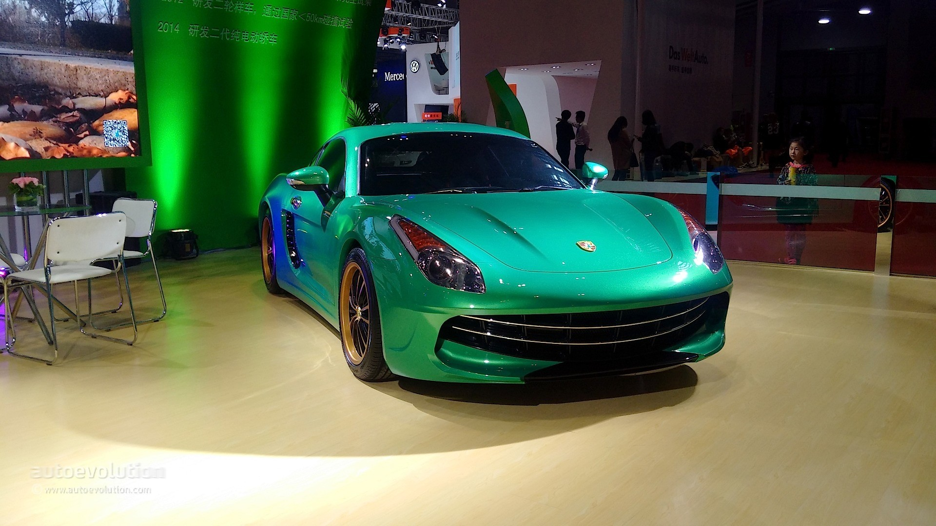 This Smiling Ferrari Is A Chinese Porsche Cayman Copycat