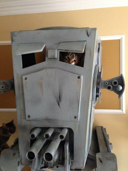 Star Wars Landspeeder is the Best Cat Bed Ever - autoevolution
