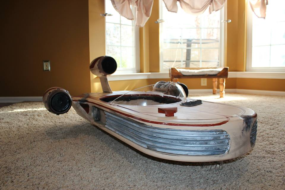 Star Wars Landspeeder Is The Best Cat Bed Ever Autoevolution