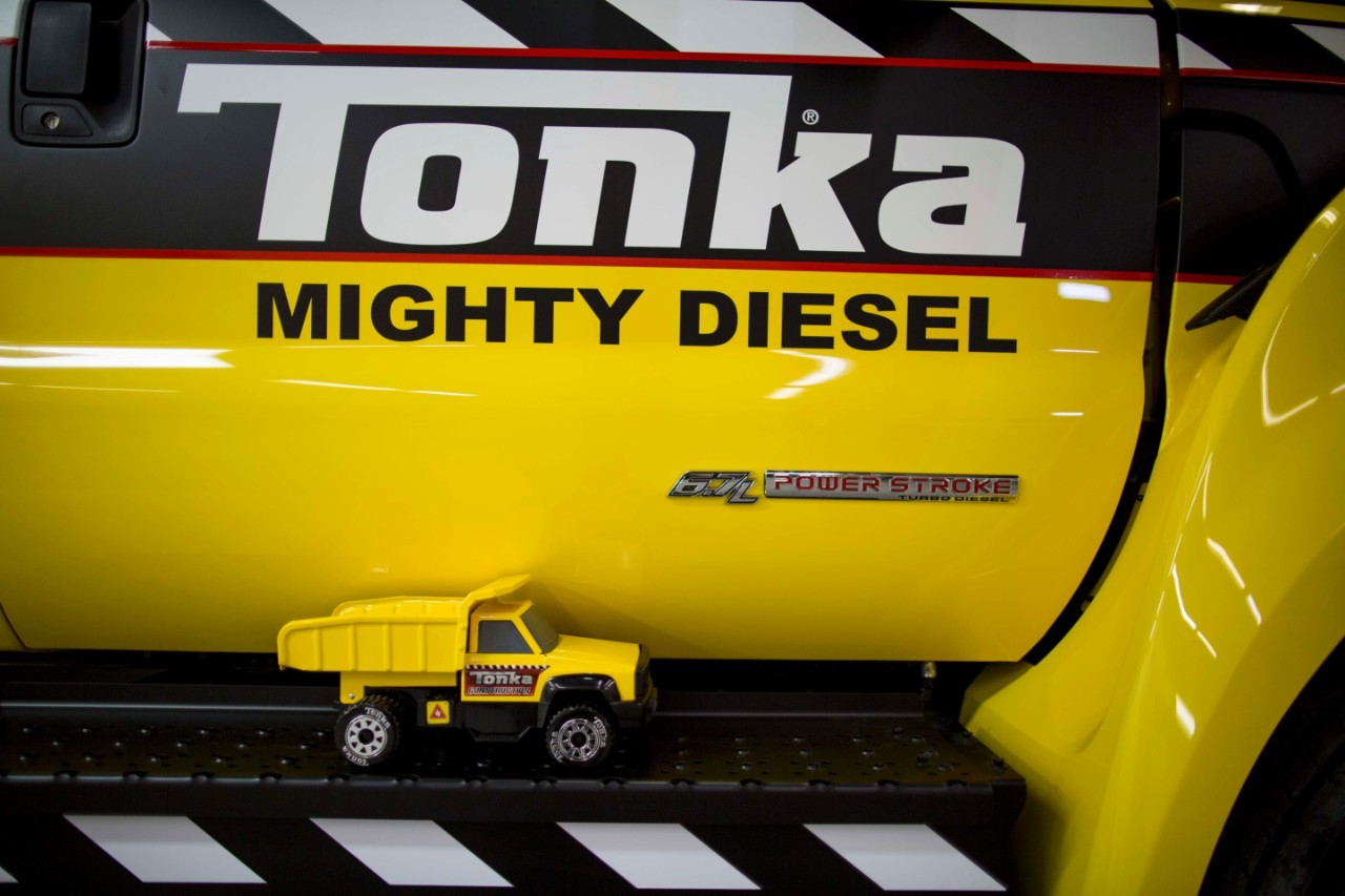 This Tonka Truck is Actually a 2016 Ford F-750 Underneath ...