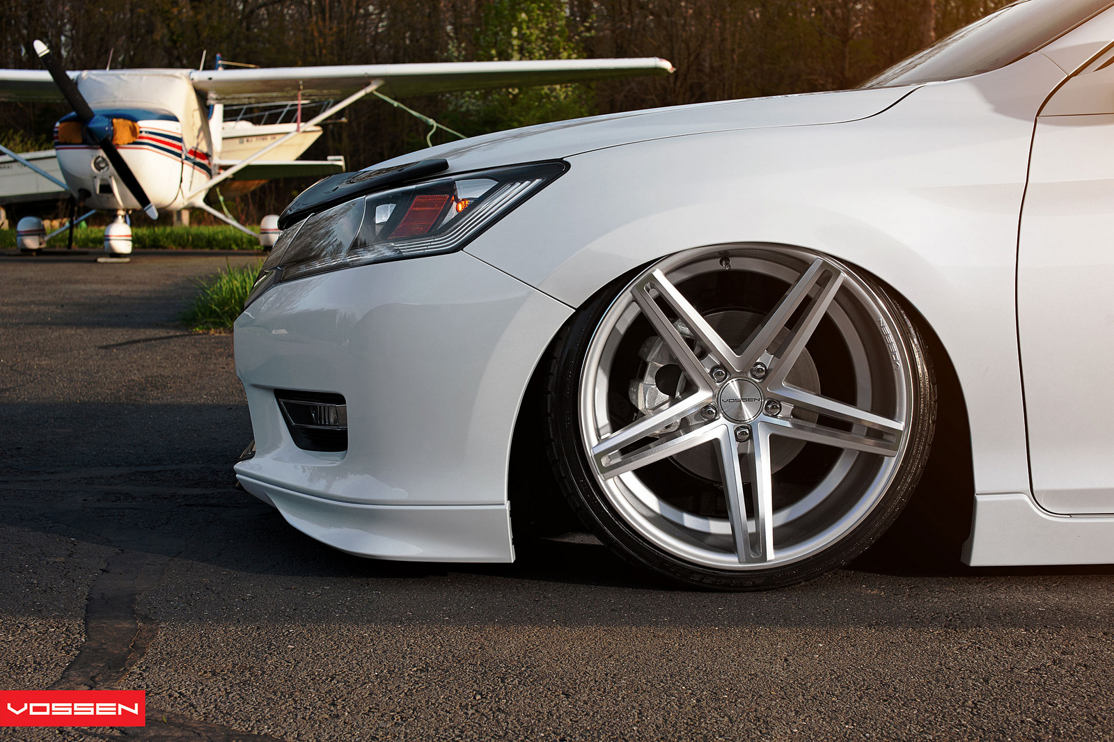 This Vossen Accord Is the Lowest Honda Ever - autoevolution