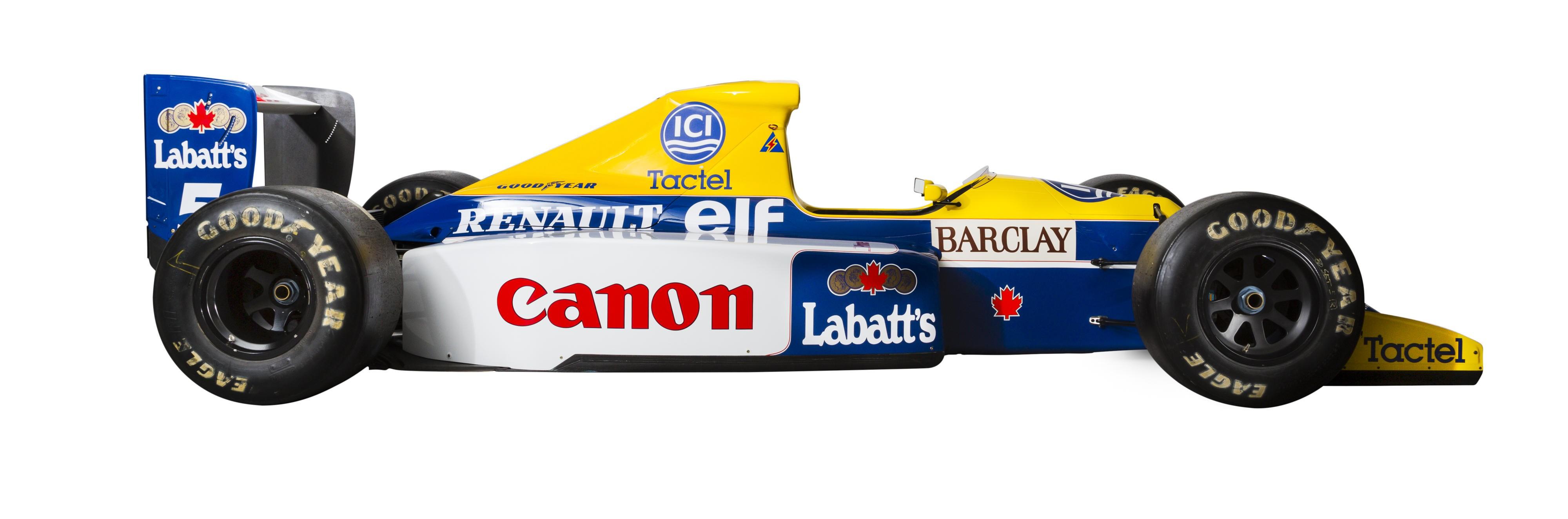 Williams da década de 1990, apresentando a evolução das regras e regulamentos da Formula 1 - foto by Autoevolution