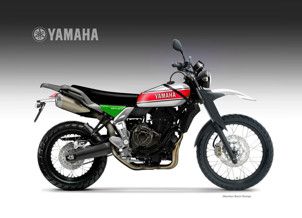 this yamaha mt 07 could give ducati scrambler a run for. Black Bedroom Furniture Sets. Home Design Ideas