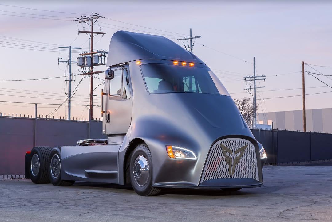 Thor ET-One Is A Tesla Semi-Rivalling Truck Built By Two