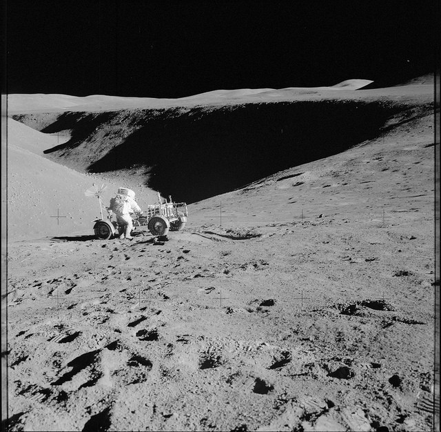 Thousands Of High Res Pictures With Nasa S Apollo Missions