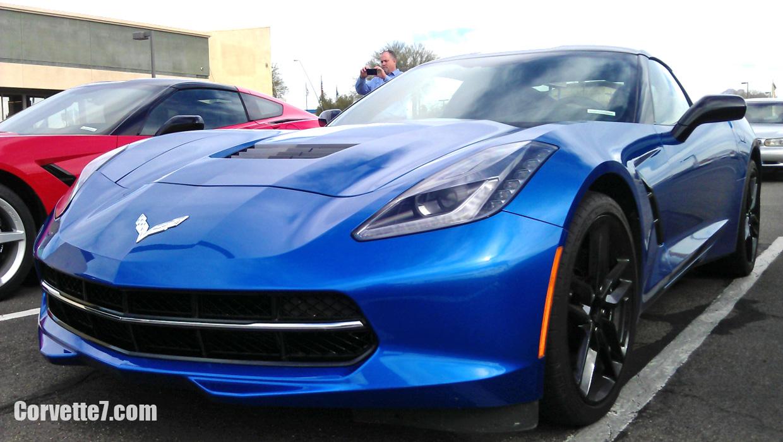 2014 Corvette Stingray Laguna Blue