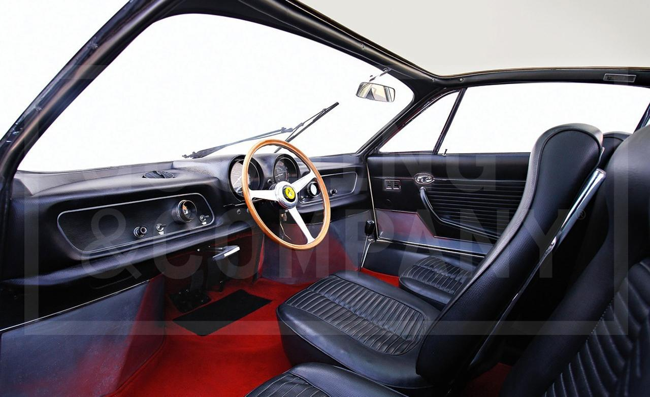 Three Seater Ferrari 365 P Berlinetta Speciale Heads To