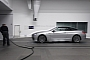 The new BMW 6 Series Convertible in the BMW Group wind tunnel