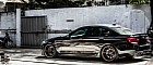 Black BMW F10 M5 on PUR Wheels