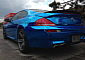 Chrome Blue BMW E63 M6