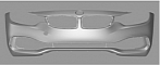 BMW F32 4 Series Coupe Production Front Bumper