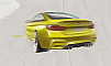 2013 BMW M4 Coupe Concept sketch