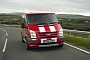 Ford Transit SportVan in Red photo