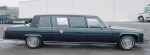 A replica of the 1986 presidential limousine