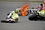 De Puniet crash at Sachsenring 2010