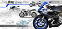 New BMW R1200S sketches