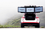 Nissan 370Z Nismo Races Extreme BASE Jumper in Swiss Alps