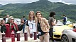 Porsche Roadshow - the marketing girls: Amelia Rusu and Cristina Carp (left to right)