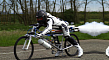 Rocket-Powered Bicycle Does 263 KM/H