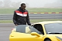 Usain Bolt at Maranello