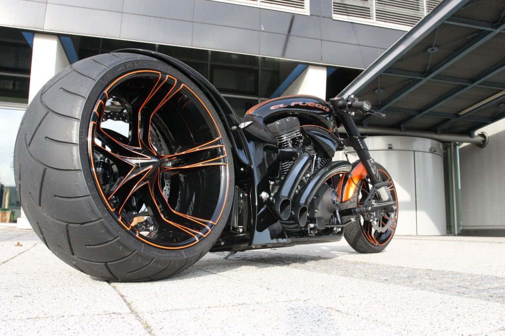 Thunderbike El Fuego Custom German Dragster Excellence Autoevolution