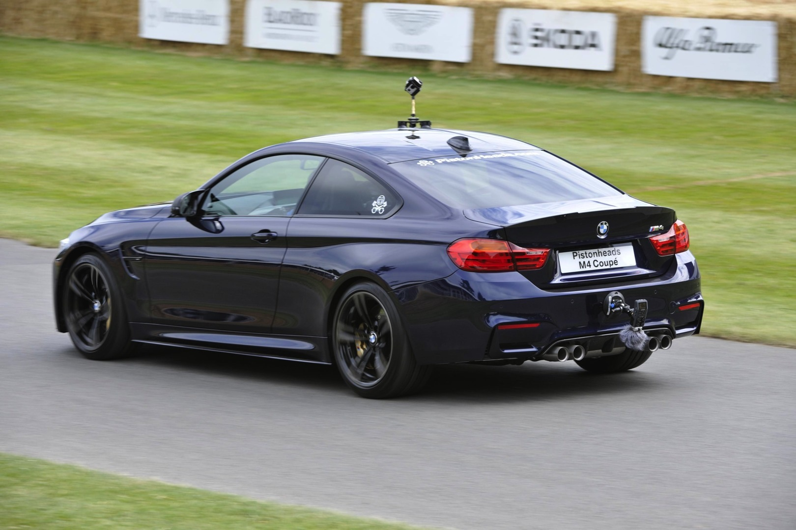 Tiff Needell Drives Unique Bmw M4 Coupe On The Goodwood