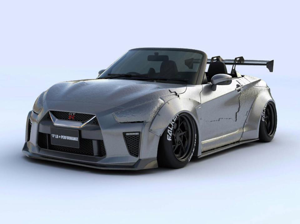 2019 Mini Cooper >> Tiny Nissan GT-R Convertible by Liberty Walk Is Ultra-Adorable - autoevolution