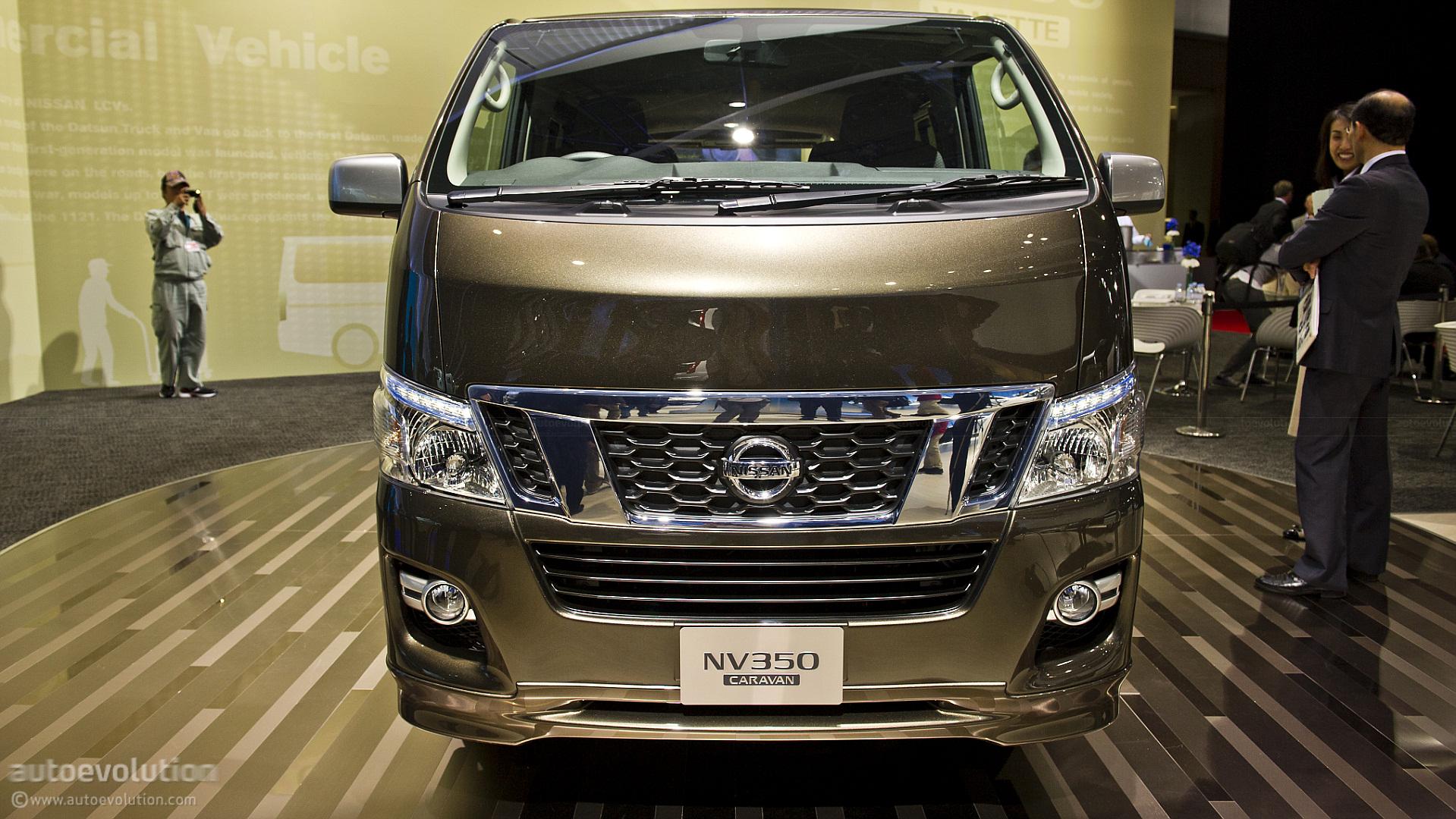 Nissan Nv Passenger Van >> Tokyo 2011: Nissan NV350 Caravan [Live Photos] - autoevolution