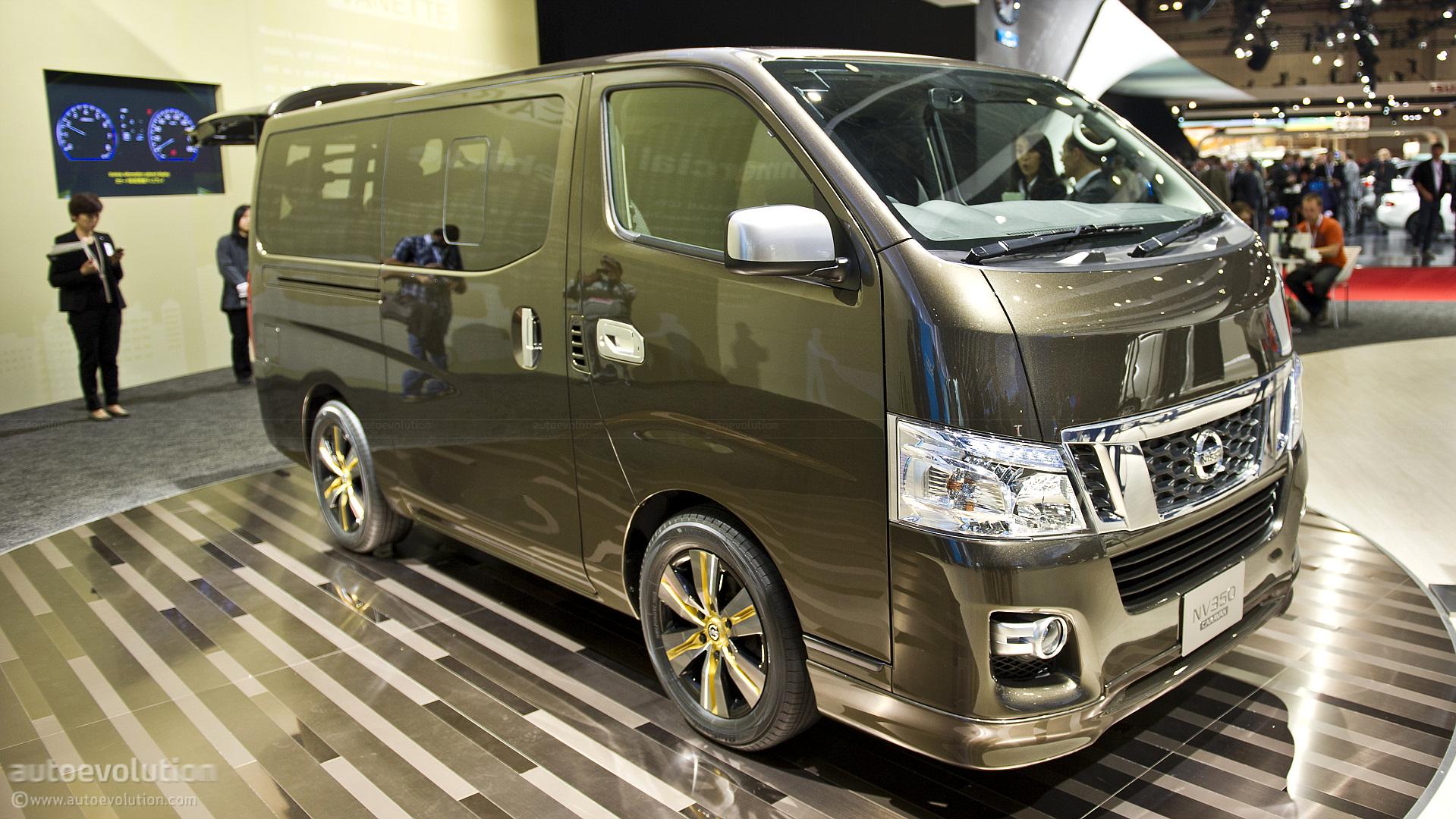 tokyo 2011 nissan nv350 caravan live photos autoevolution