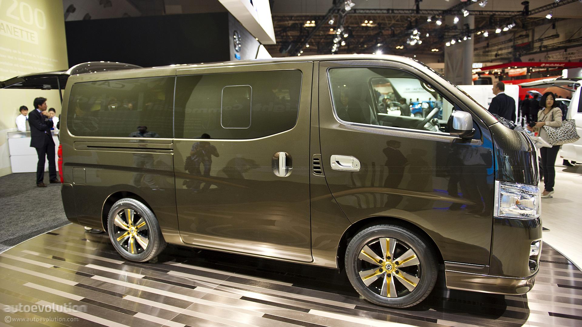 Tokyo 2011: Nissan NV350 Caravan [Live Photos] - autoevolution