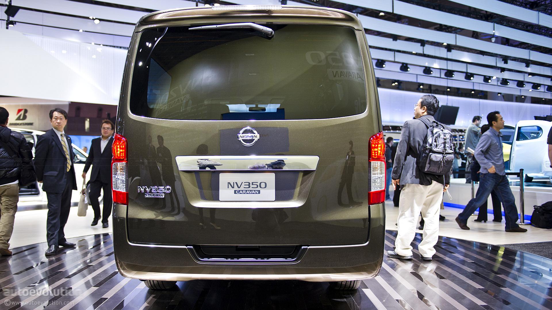 2013 nissan nv350 caravan
