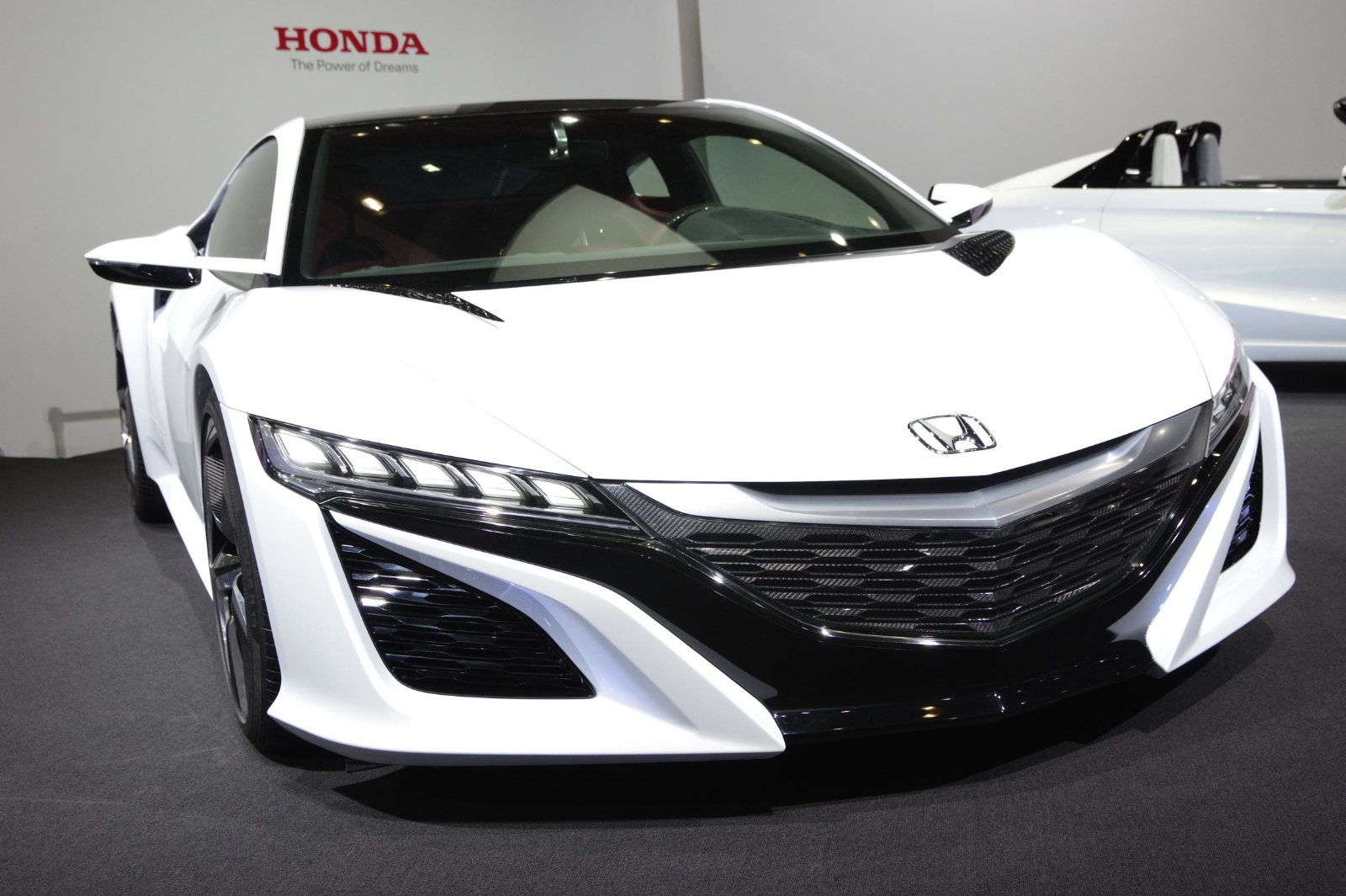 Tokyo 2013 Honda Nsx Concept In White Live Photos