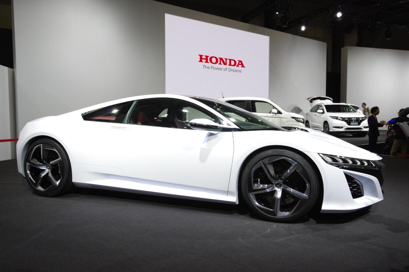 Acura Tlx Hybrid >> Tokyo 2013: Honda NSX Concept in White [Live Photos ...
