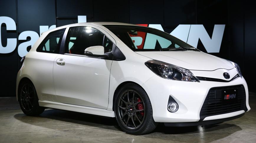 Tokyo Auto Salon 2013: Toyota Vitz (Yaris) Turbo Concept