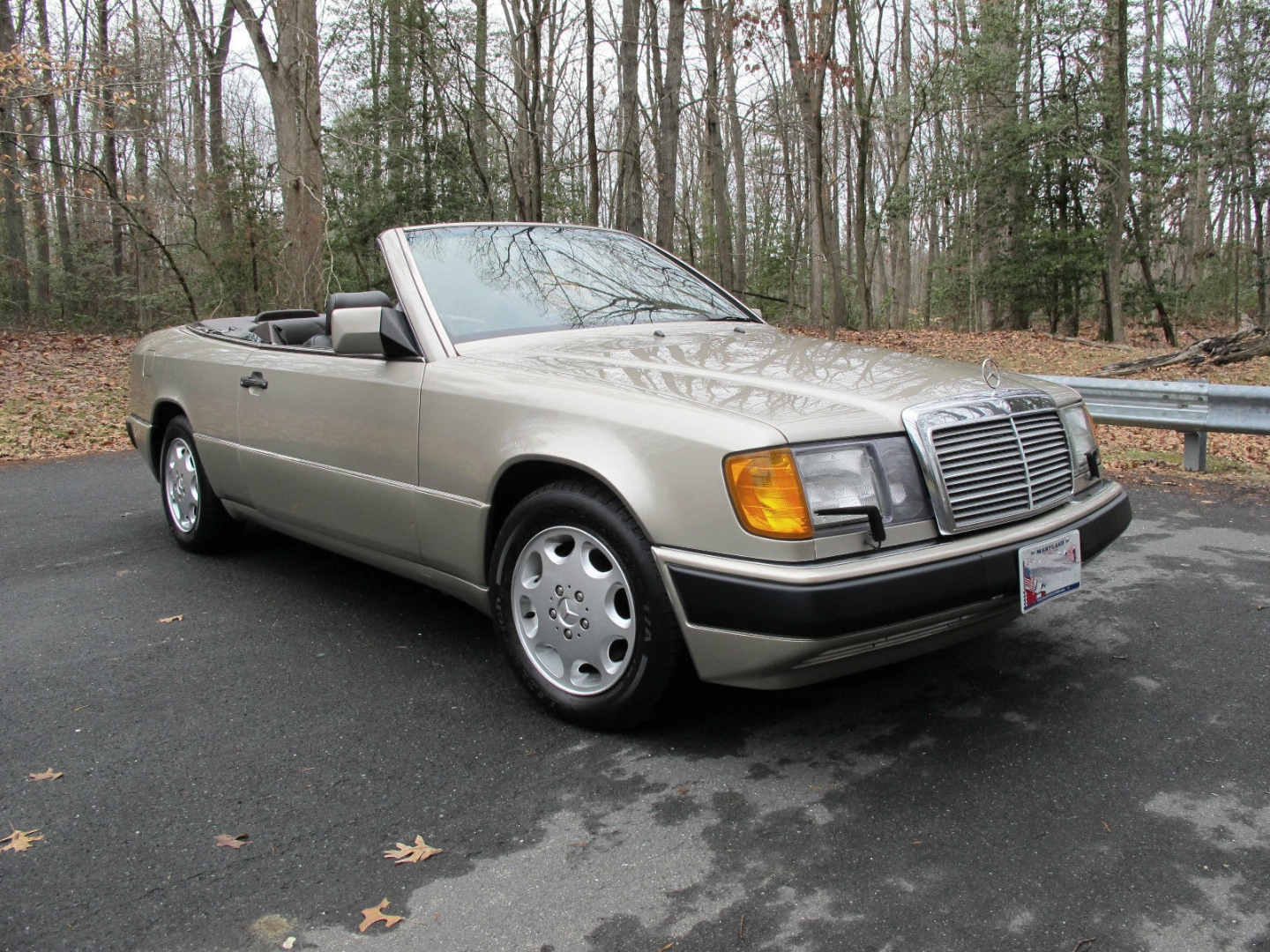 Tom cruise 39 s 300 ce cabriolet from the firm is for sale for Used mercedes benz for sale on ebay