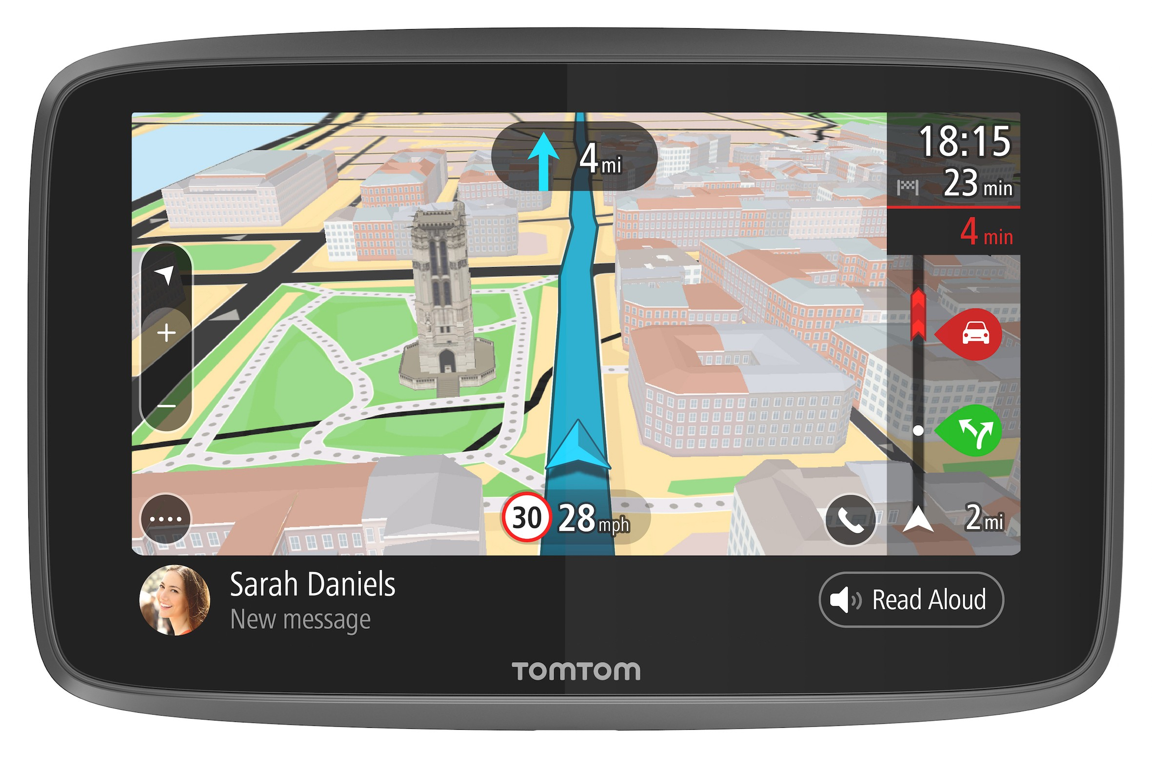 Find the model of your navigation device and what software it uses