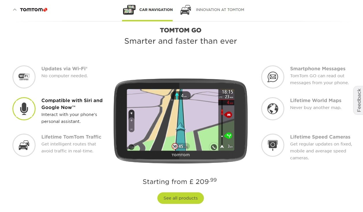 TomTom Lifetime Map Updates Available in North America autoevolution
