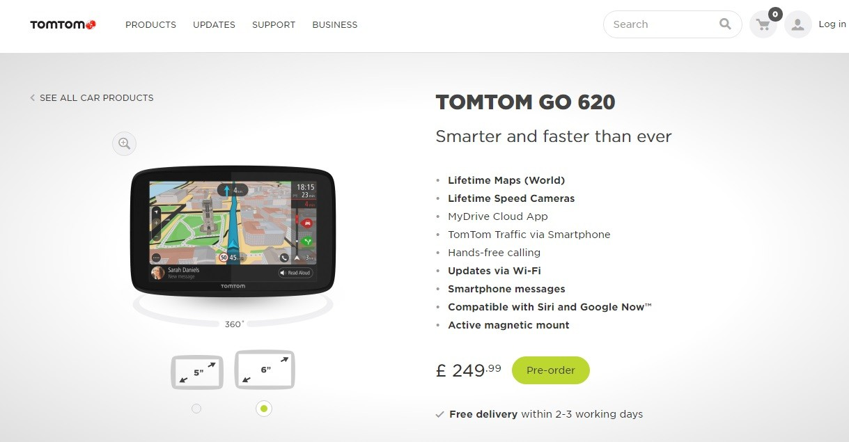 TomTom Start 20 Available in the UK from £130 - autoevolution