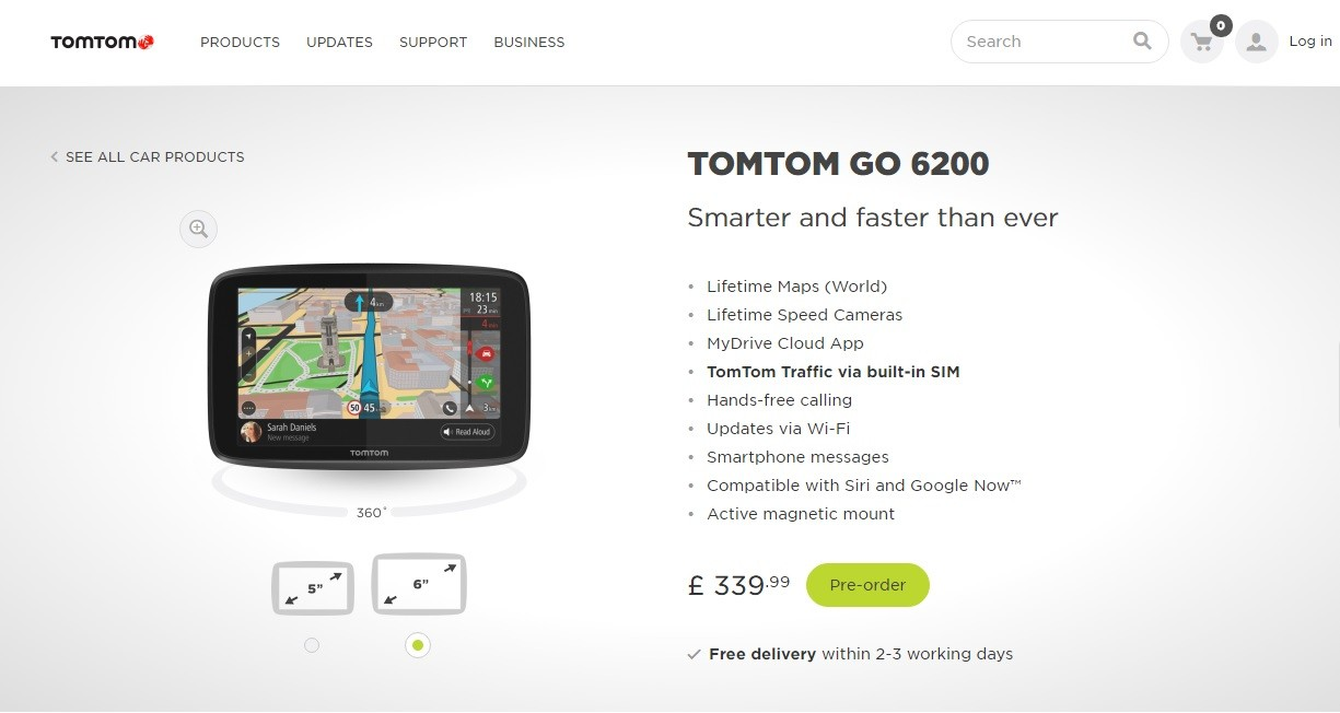 tomtom go satellite navigation range adds wi fi updates. Black Bedroom Furniture Sets. Home Design Ideas