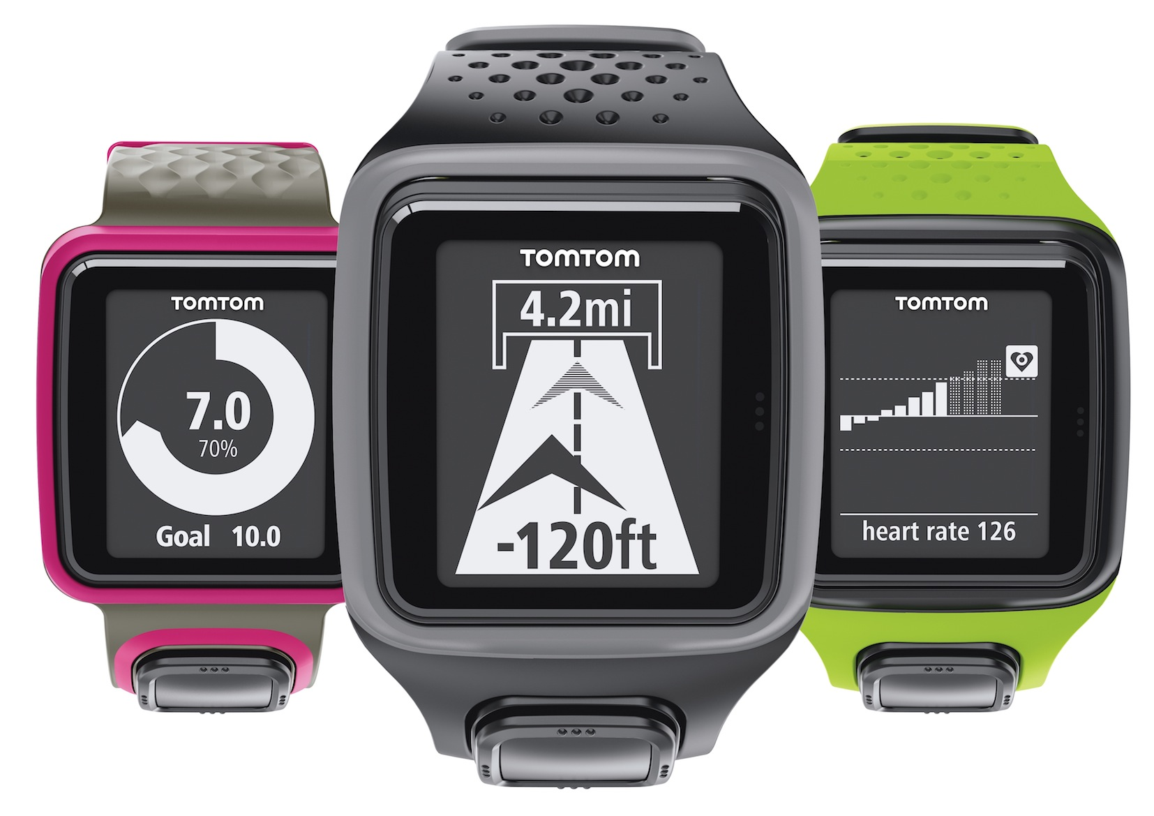 TomTom Launches GPS Watches