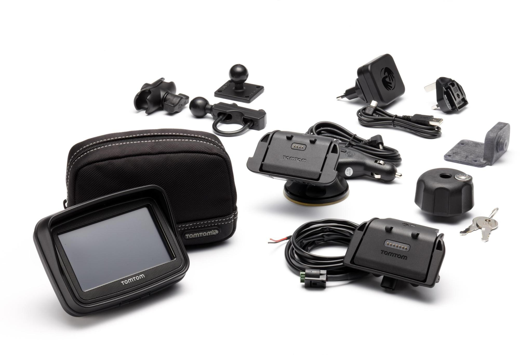 tomtom rider premium the ultimate bike gps package autoevolution. Black Bedroom Furniture Sets. Home Design Ideas