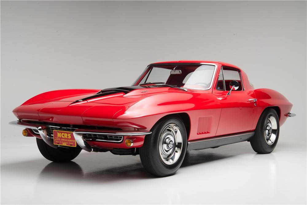 Merveilleux ... 1967 Chevrolet Corvette L88 ...