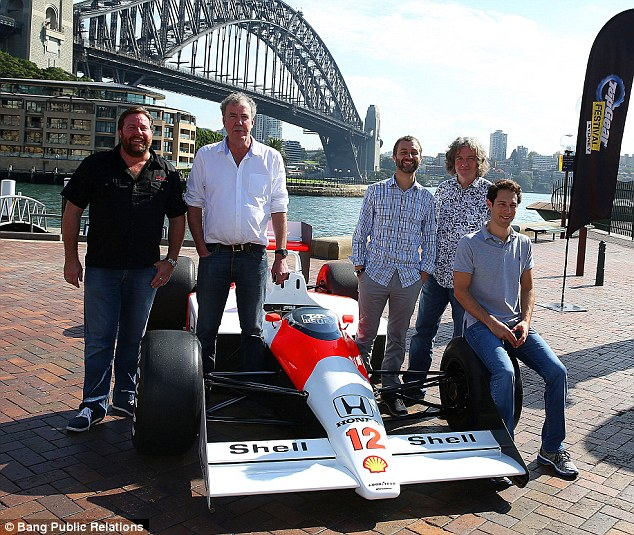 Top Gear Australia Hosts Top Gear Hosts Return to