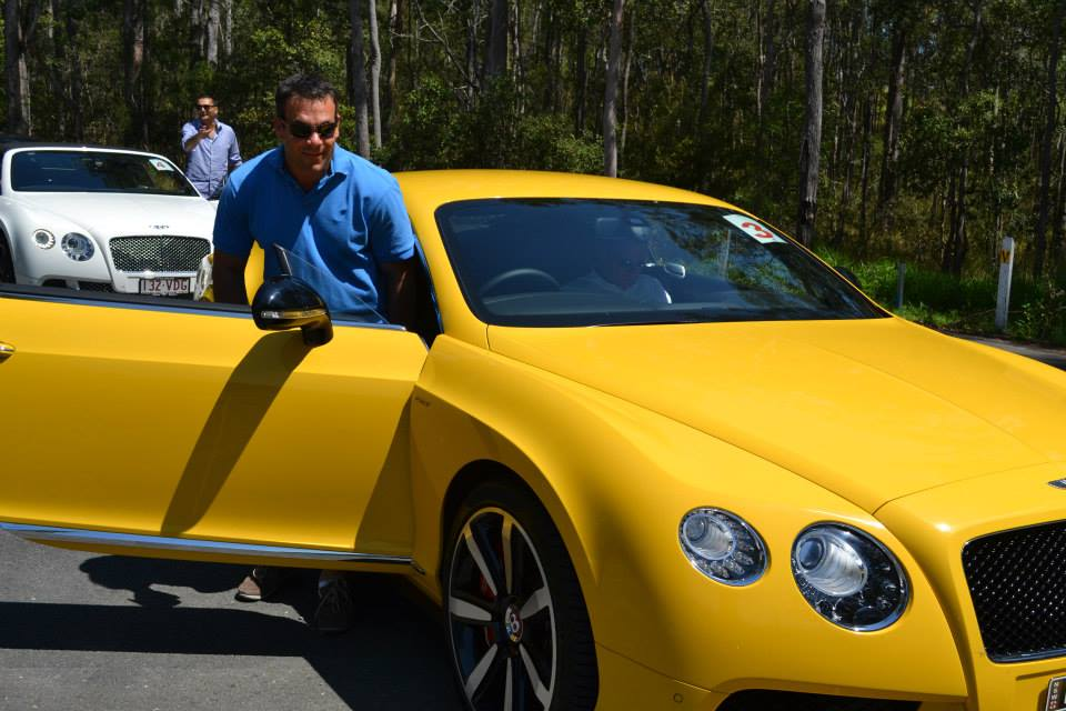 Top Gear Seriously Damaged The Yellow Bentley Gt V8 S In