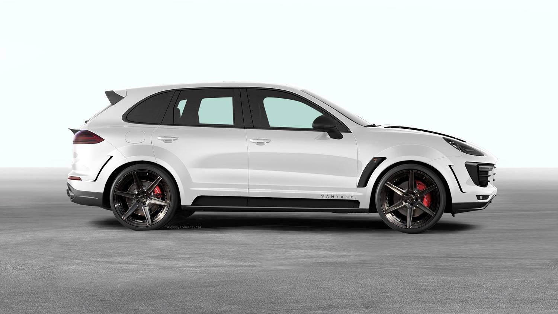 Topcar 2015 Porsche Cayenne Vantage Looks Like A Russian
