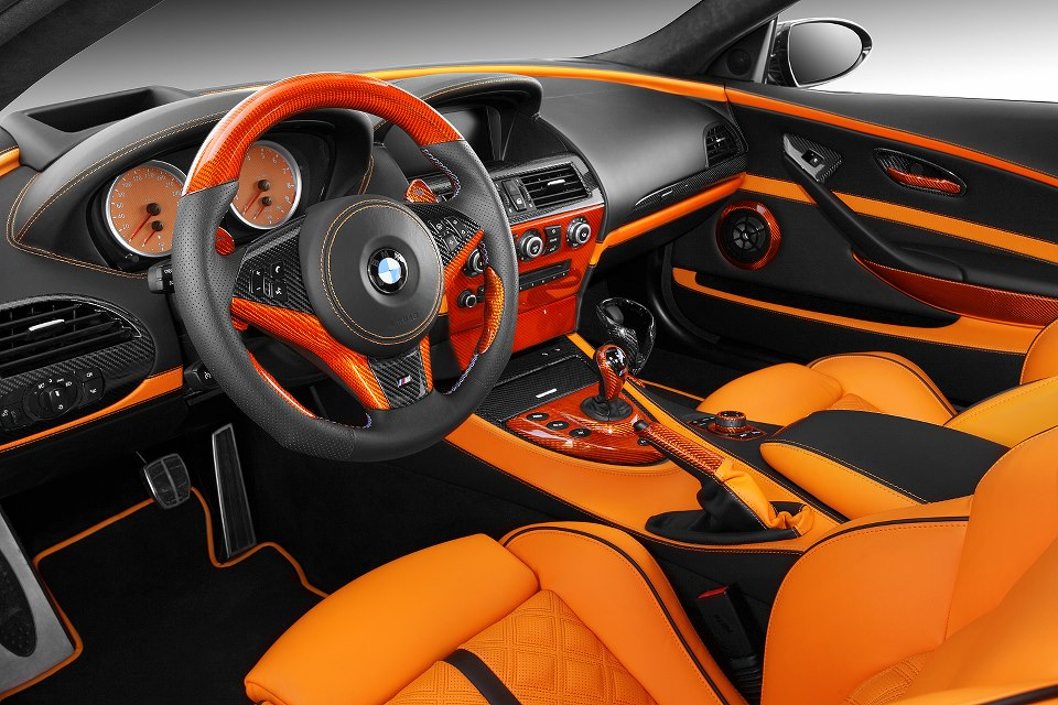 topcar bmw e63 m6 is orange autoevolution. Black Bedroom Furniture Sets. Home Design Ideas